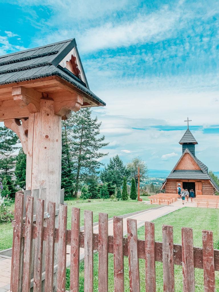 Berg Gubalowka, Zakopane, Polen