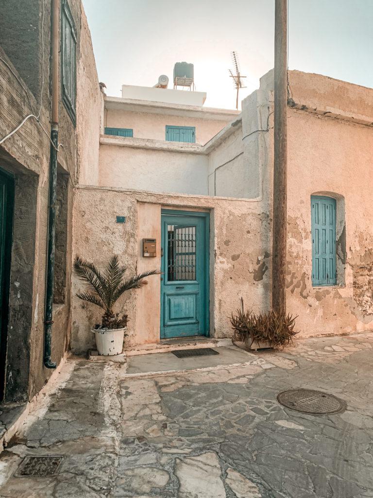Die Altstadt in Ierapetra