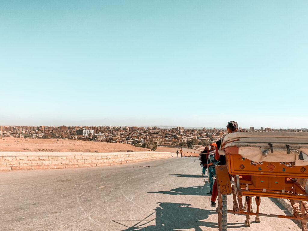 Blick auf die Stadt Kairo