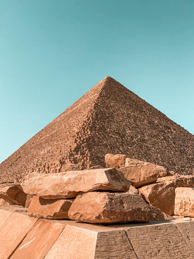 Steine der Pyramide