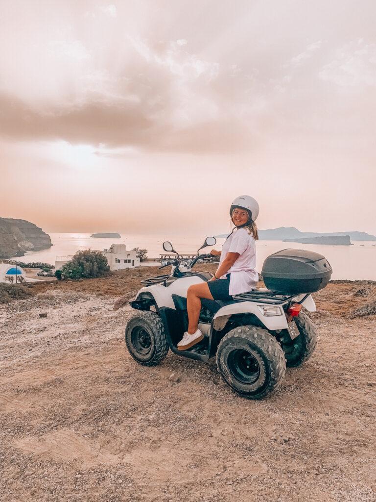 Quad, Santorini